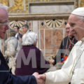 Francis Davis meets The Pope